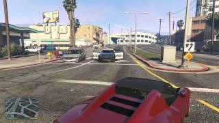 Grand Theft Auto V Free Roam Gameplay Pure HD