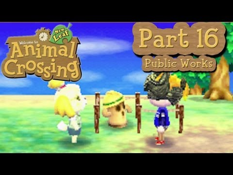 Animal Crossing: New Leaf - Part 16: Paying Off 98K Loan And Reviewing Public Works Projects!