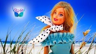 Hướng dẫn làm khăn Turban tuyệt đẹp cho Búp bê Barbie ★ Chị Cánh tiên