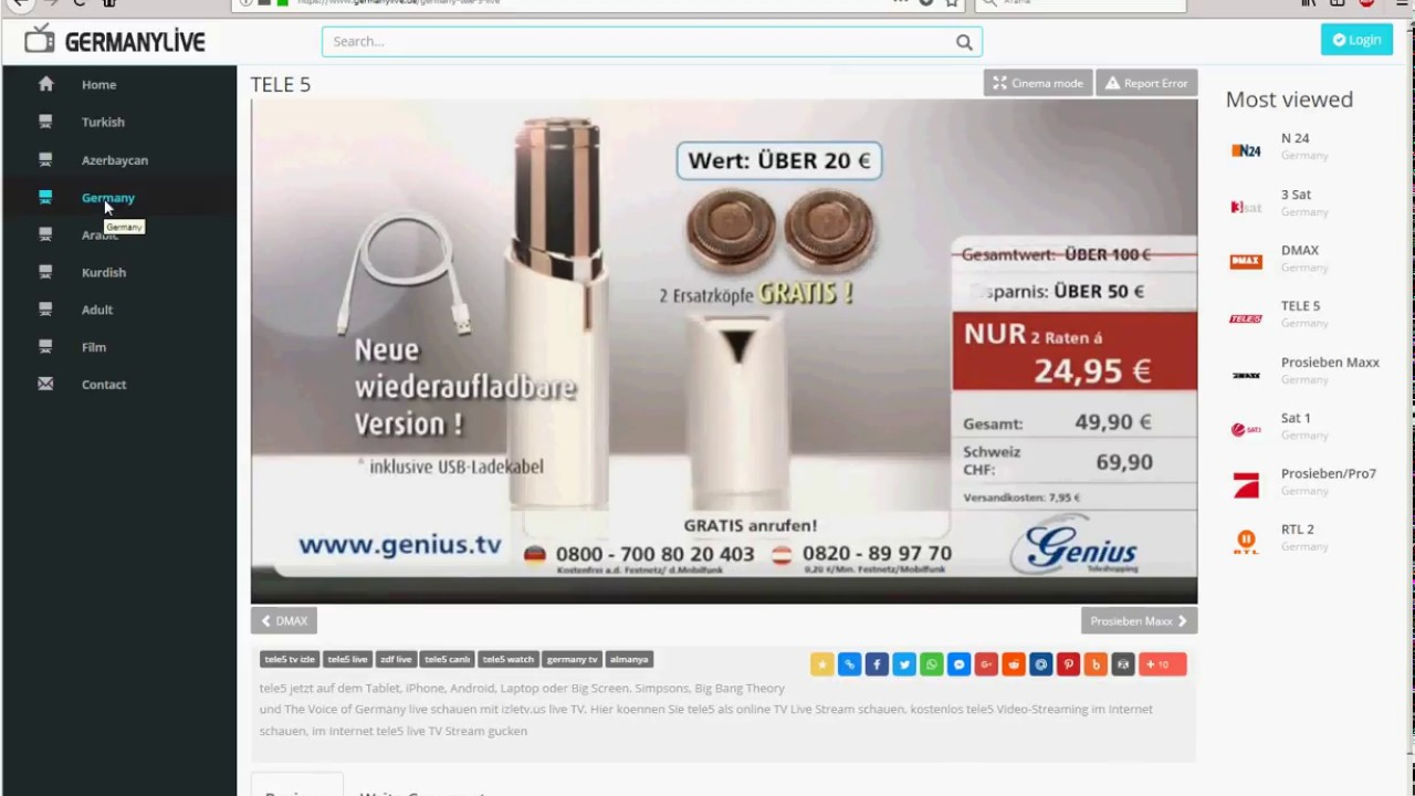 Tele5 Online