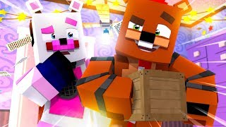 Nedd Bear Steals From Funtime Freddy! Minecraft FNAF Roleplay