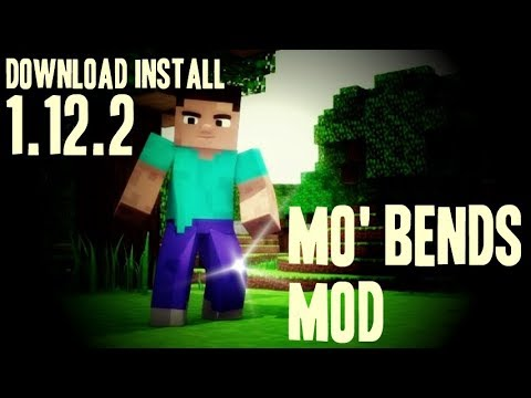 MO'BENDS MOD 1.12.2 Minecraft - How To Download And Install Mo'bends 1.12.2 [like Animated Player]