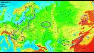 The Scytho-hun genetic in Eurasia R1a1+N1a+P (Y-dna+Mtdna)