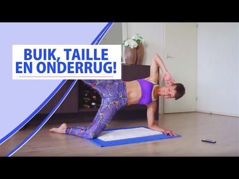 Train je Buik, Onderrug en je Taille! - Mini Workout