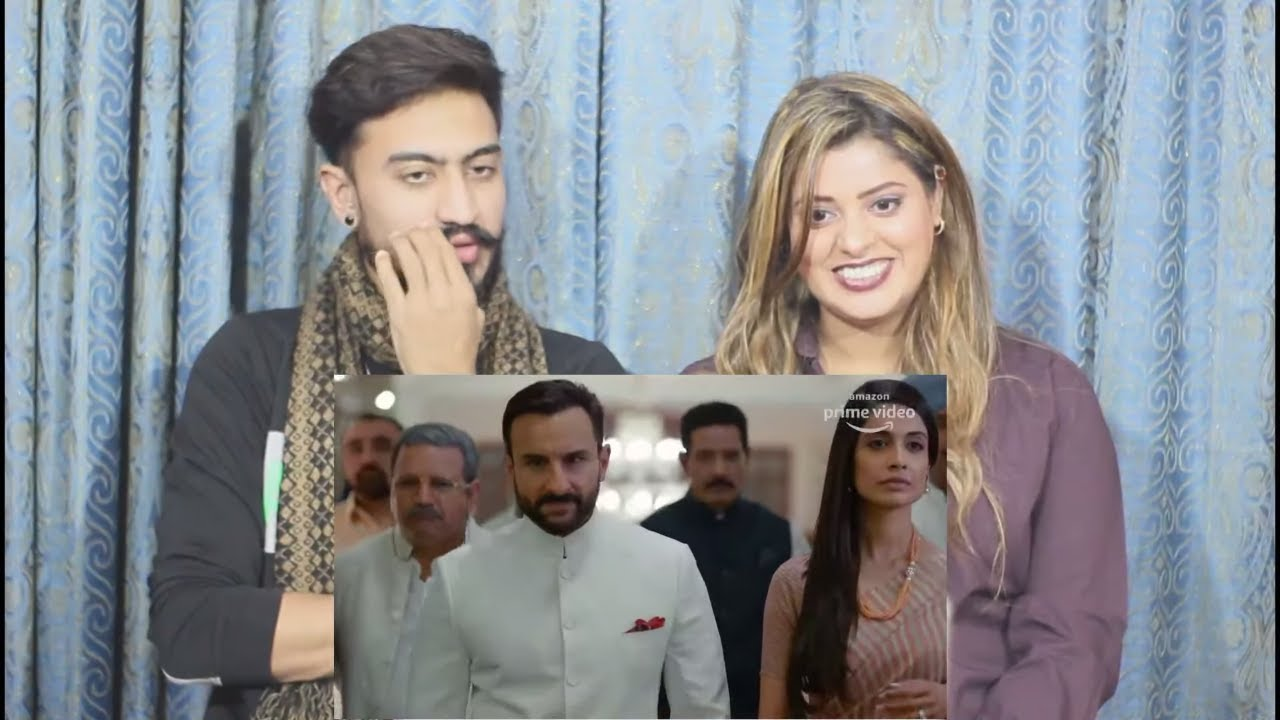 Pak Reaction To   Tandav - Official Trailer   Saif Ali Khan, Dimple Kapadia, Sunil Grover