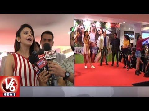 Rakul Preet Singh Promotes Shorts For Nothing In Punjagutta Hyderabad Central Mall | V6 News