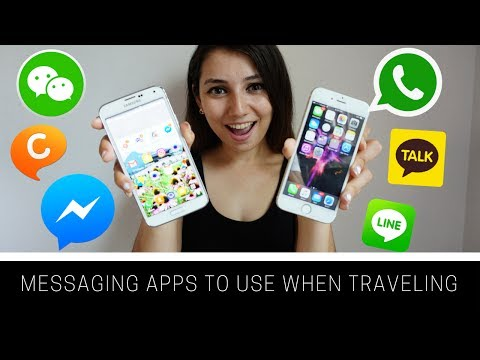 Messaging Apps to use when traveling!