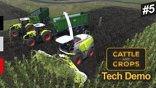Cattle And Crops - Claas Jaguar 960 Ile Mısır Sılajı -  Tech Demo  #5