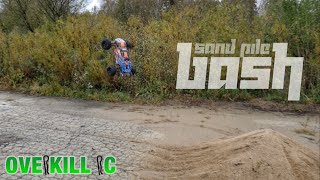Sand Pile & Parking Lot Run w/ the Traxxas E-Revo 2.0 | Running Footage | Overkill RC