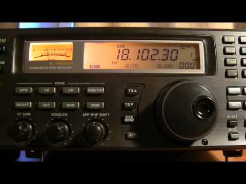 18102.30khz,Ham Radio,OX3DB(Nuuk,Greenland) 16-30UTC.