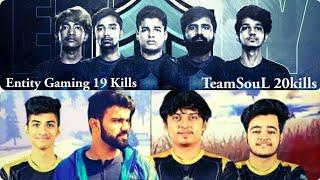 Team SouL 20 Kills | Entity Gaming 19 Kills Jonathan & Mortal 10 Kills | Villager Esports Tier 1