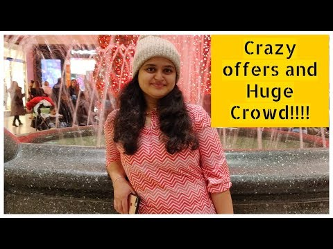 Boxing Day Offers And Shopping In Canada | Huge Discounts In Nike, Michael Kors Etc  | Amullya Vlogs