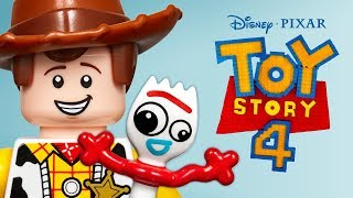 LEGO Disney Pixar Toy Story 4 - Forky's Rescue - As Told With LEGO Bricks
