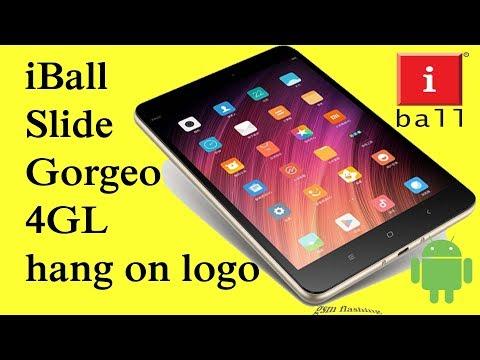 IBall Slide Gorgeo 4GL Hang On Logo Flashing Problem_Solved