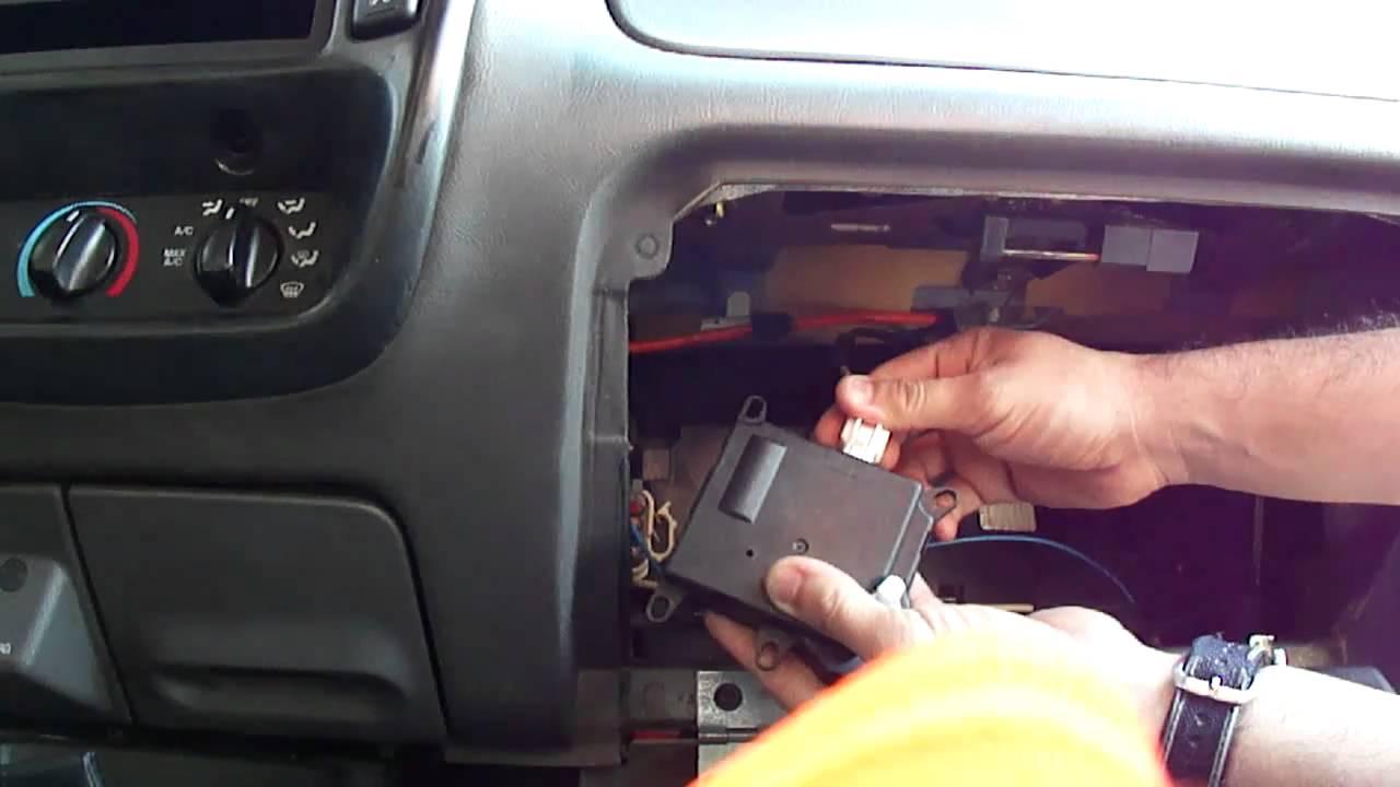93 Buick Lesabre Fuse Box Testing Blend Door Actuator 2003 Ford Ranger Edge Youtube