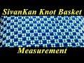 SivanKan Basket - Measurement