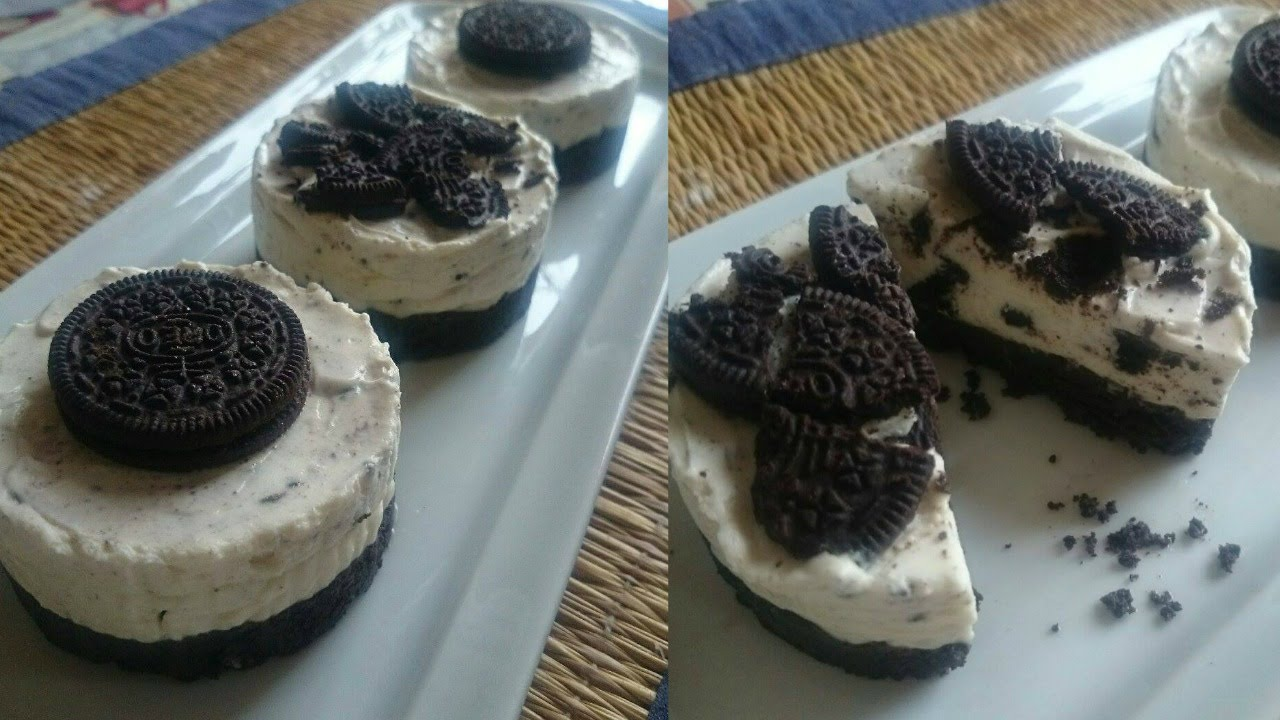 cheesecake oreo sans cuisson oreo cheesecake no bake. Black Bedroom Furniture Sets. Home Design Ideas