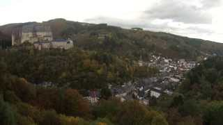 Quadrocopter Castle Vianden with GoPro (Luxembourg) Walkera QR X350