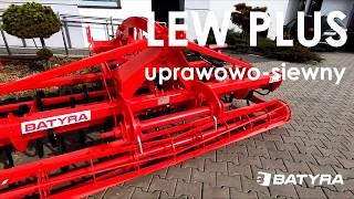 LEW PLUS - Agregat uprawowo-siewny - BATYRA Maszyny Rolnicze
