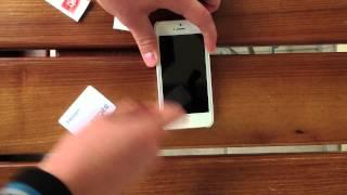 видео защитные стекла для айфон 5