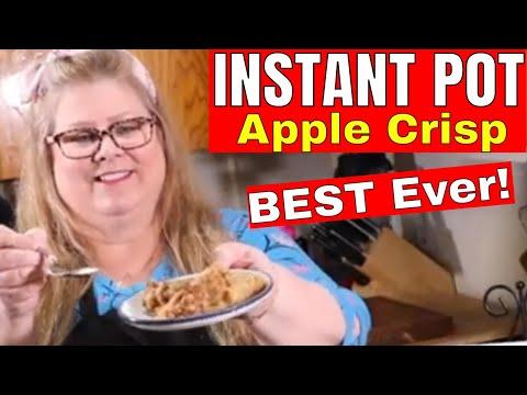 How To Make Instant Pot Apple Crisp