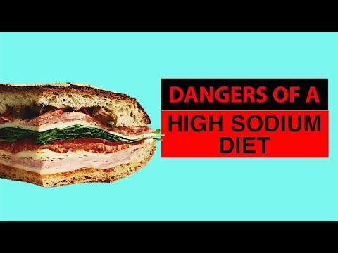 Dangers of a High Sodium Diet