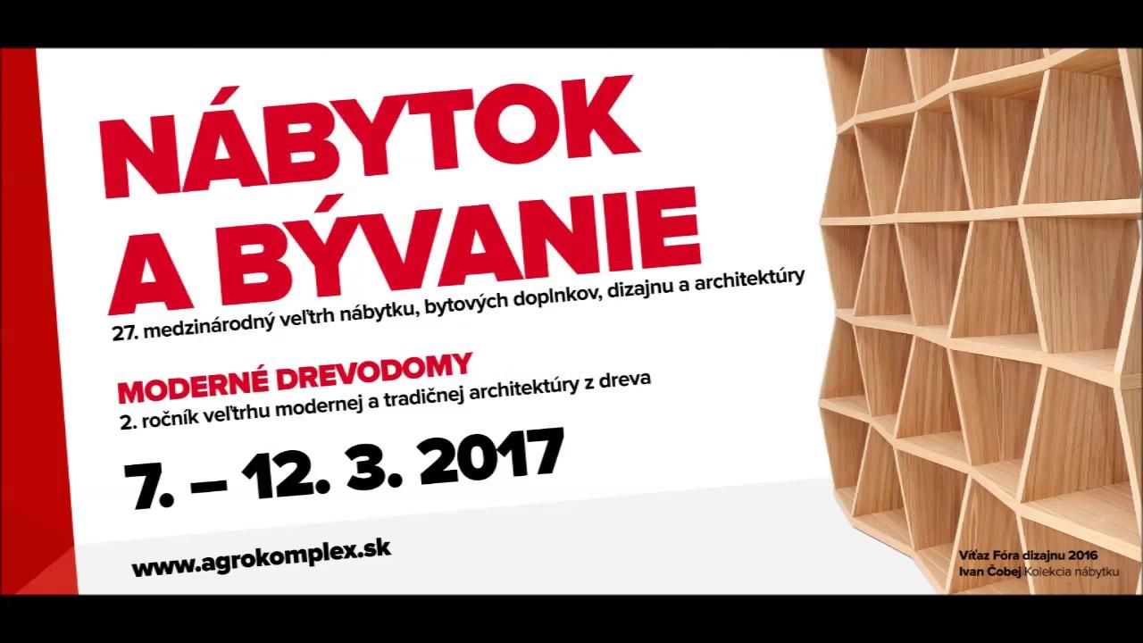 ec790db1f75d Pozývame Vás na výstavu Nábytok a bývanie 2017. Agrokomplex Nitra