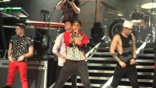 Midnight Red - Take Me Home & Talk Dirty Dance Break (HOB Anaheim)