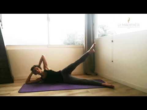 """Cours de Pilates mat #5<br>""""Summer Body 2""""<br>par Cindy Torino<br>Durée : 28 minutes"""