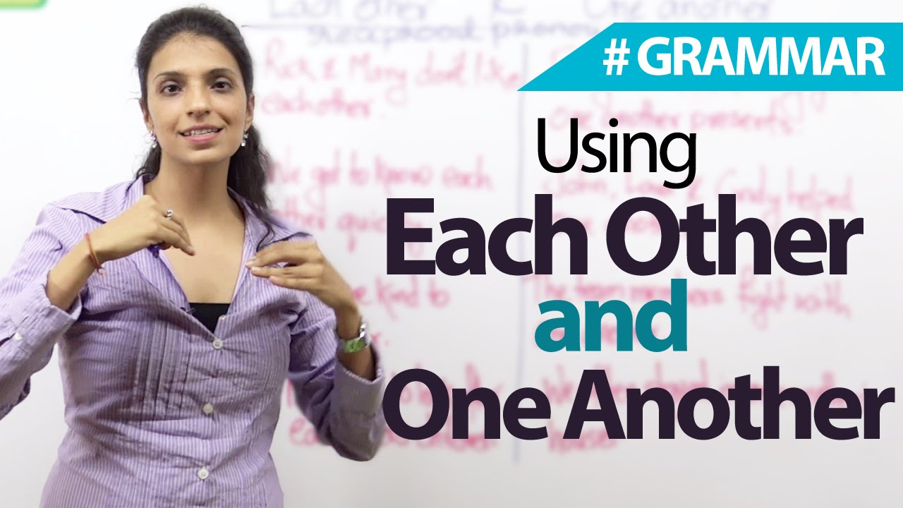 Download Using Each other and One Another correctly  - English Grammar Lesson