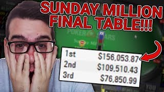 $215 SUNDAY MILLION FINAL TABLE! ($155,000 TO 1ST PART 2)