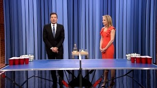 Beer Pong with Helen Hunt