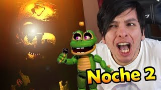 - FIVE NIGHTS AT FREDDY S 6 NUEVOS ANIMATR NICOS Noche 2 FREDDY FAZBEAR S PIZZA SIMULATOR