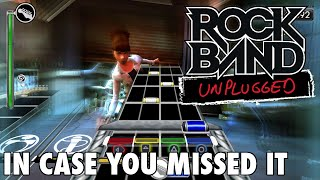 Rock Band: Unplugged Review - In Case You Missed It