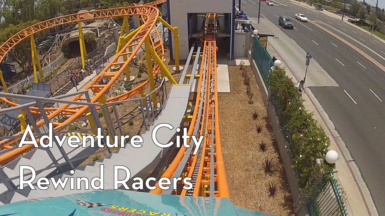 Roller Coasters- Family Shuttle, Rewind Racers at Adventure City ...