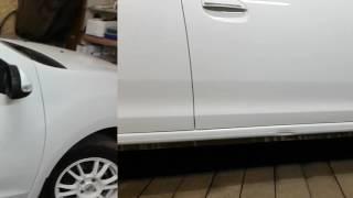 удаление вмятин на пороге Новый Renault Logan!