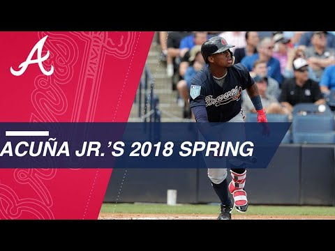 Ronald Acuna Jr. is on FIRE During Spring Training