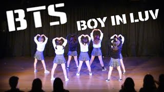BTS 방탄소년단 Boy In Luv 상남자 Cover Dance By 法政大学 Chumuly