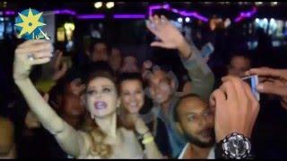 بالفيديو: رولا سعد تفاجيء جمهورها بصورة سيلفي معهم