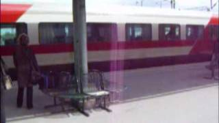 Video clip from the railway station of Seinäjoki / Finland (May 200...