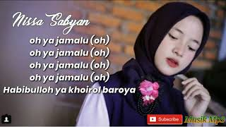 Download Lagu Ya Jamalu–Nissa Sabyan