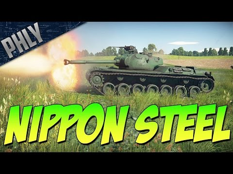 GLORIOUS NIPPON STEEL - Very Honorable (War Thunder Tanks Gameplay)
