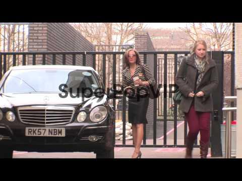 Amanda Mealing  Celebrity Video Sightings on February 04...