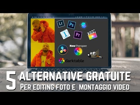5 PROGRAMMI GRATUITI Alternativi Per MODIFICARE LE FOTO E MONTAGGIO VIDEO 📸🎥