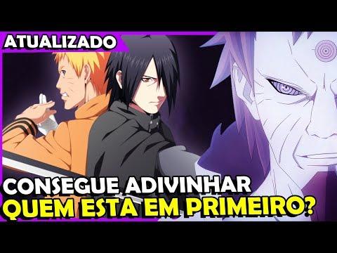 Top 10 mais PODEROSOS do universo Naruto - Concorda? ATUALIZADA!