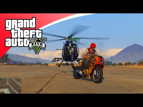GTA V Freeroam - SNELSTE MOTOR VAN BIKER DLC? PARTY BUS! (GTA 5 Online)