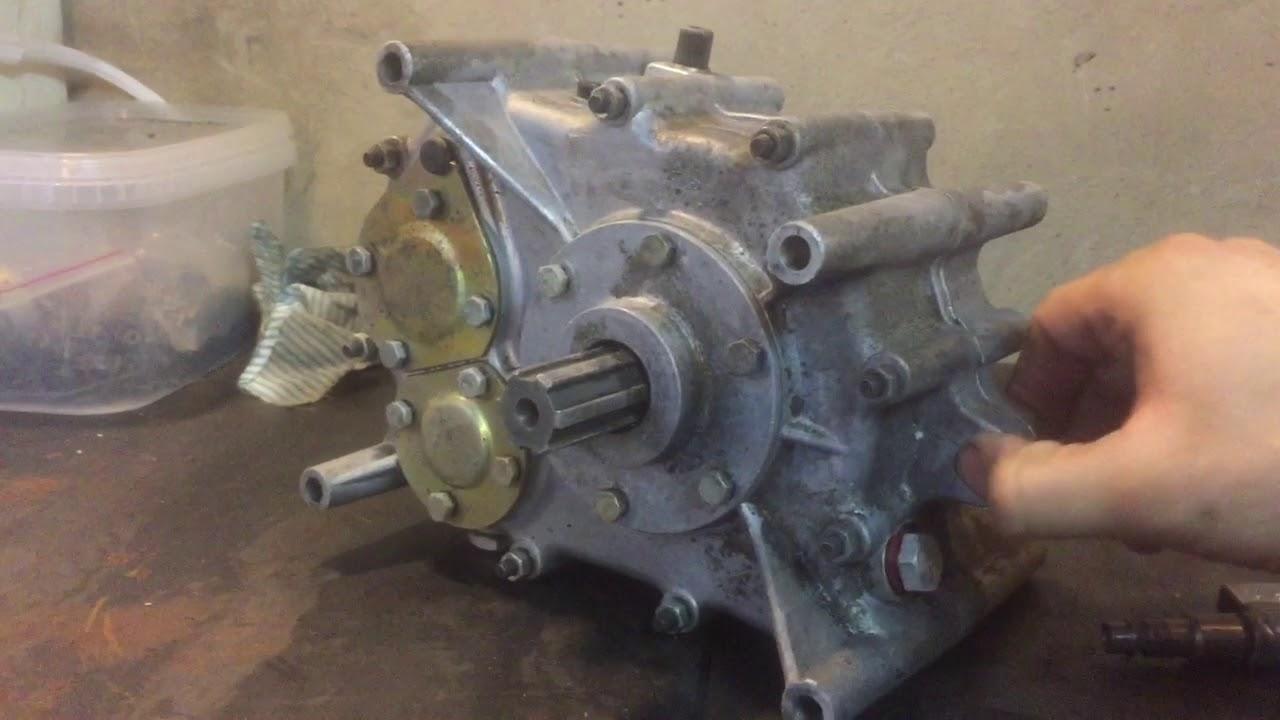 4-тактный мотороллер Муравей 250сс подготовка к установке часть 1