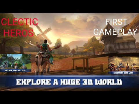 Best MMORPG Ever. Celtic Heroes First Gameplay