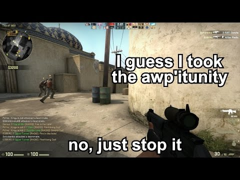 Random CS:GO Bullshittery (part 1)