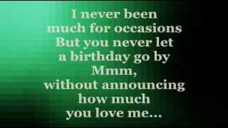 CELINE DION - Another Year Has Gone By (Lyrics)